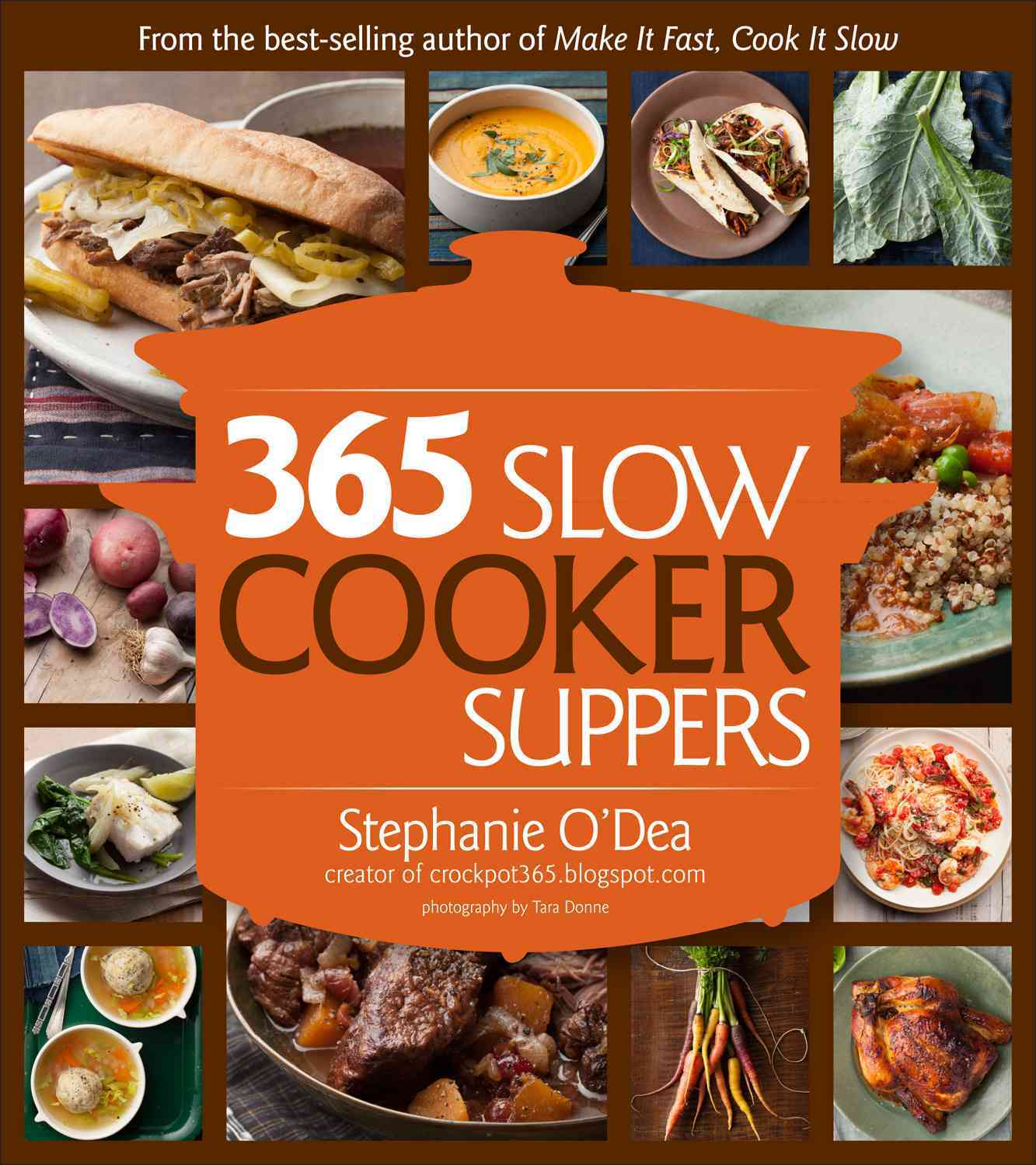 365 Slow Cooker Suppers By O'Dea, Stephanie